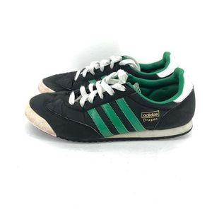 B2) Adidas Originals Retro Canvas Dragon Shoe Sz 6